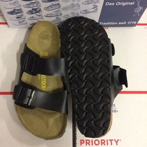 Birkenstock Shoes - Birkenstock Black Arizona Sandals